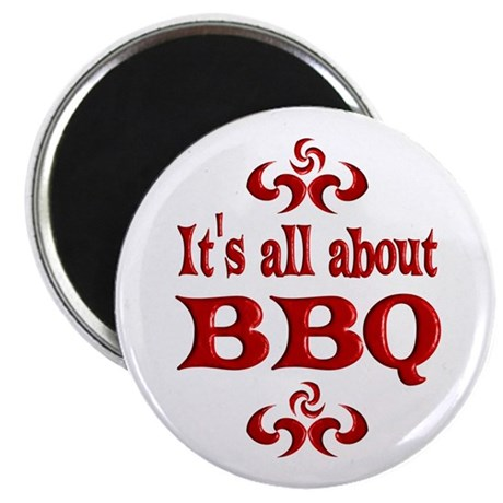 "BBQ 2.25"" Magnet (10 pack)"