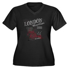 Jack the Ripper London 1888 b Women's Plus Size V-