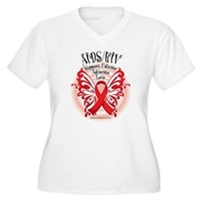 AIDS/HIV Butterfly 3 T-Shirt