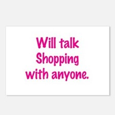 Talk Shopping Postcards (Package of 8)