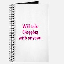 Talk Shopping Journal