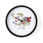 Lally Sept Wall Clock