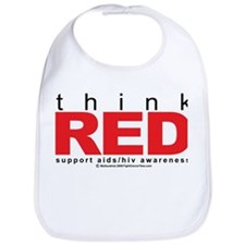 AIDS Think Red Bib