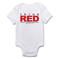 AIDS Think Red Infant Bodysuit