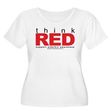 AIDS Think Red T-Shirt