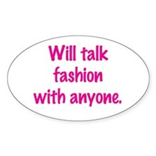 Talk Fashion Decal