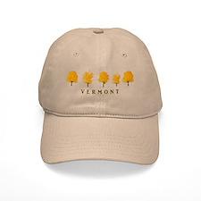 Autumn Trees - Vermont Baseball Baseball Cap