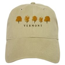 Autumn Trees - Vermont Baseball Cap