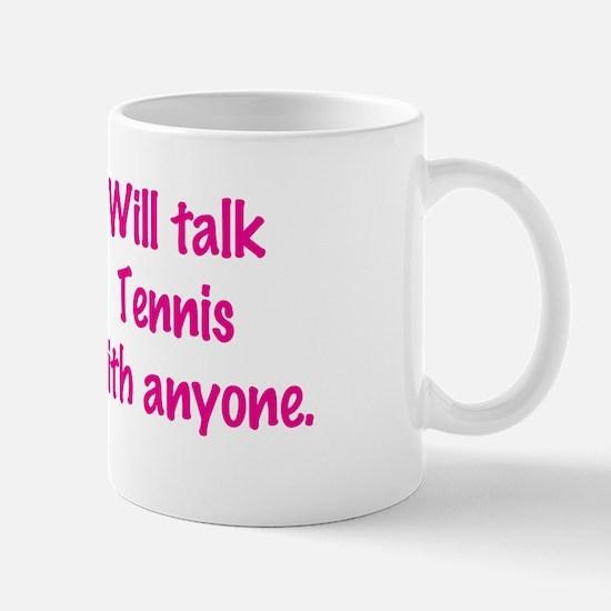 Cute Tennis chick Mug