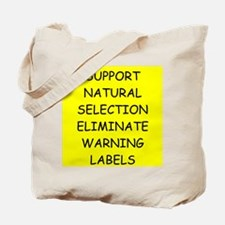 funny proverb Tote Bag