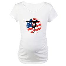 USA Stars and Stripes Gymnast Shirt