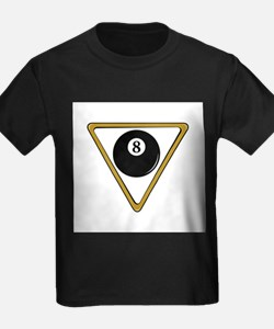 Eight Ball and Rack T