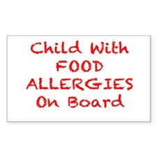 Cool Allergic to dairy Decal