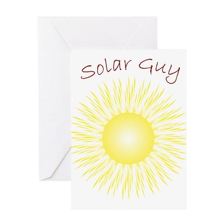 Solar Guy Greeting Card