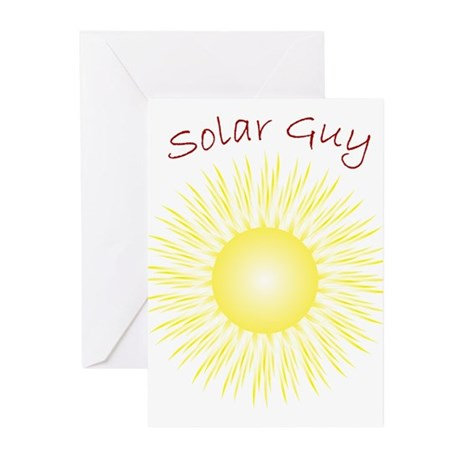 Solar Guy Greeting Cards (Pk of 10)