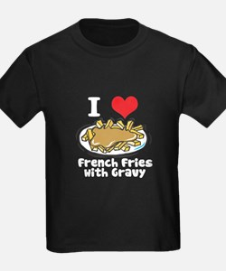 I Heart (Love) French Fries w T