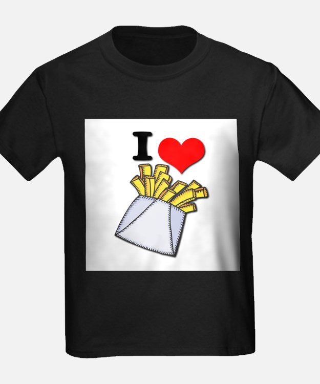 I Heart (love) French Fries T