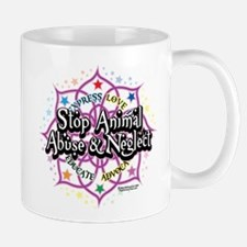 Animal-Rights-Lotus Mug