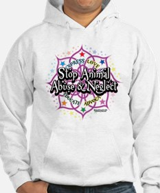 Animal-Rights-Lotus Hoodie