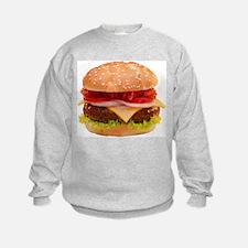 yummy cheeseburger photo Sweatshirt