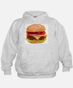 yummy cheeseburger photo Hoodie