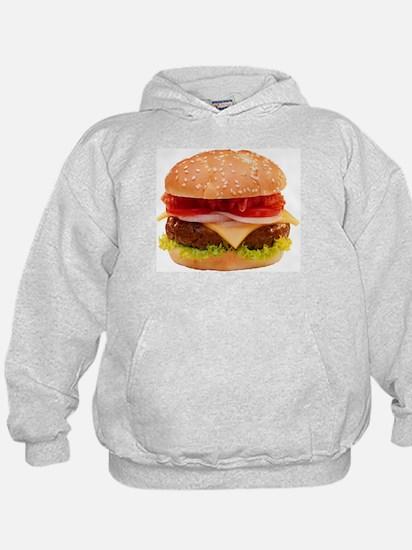 yummy cheeseburger photo Hoodie