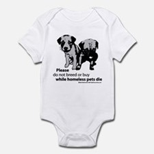 Don't-Breed-Or-Buy-2009 Infant Bodysuit