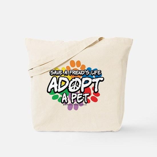 Paws-Adopt-2009 Tote Bag