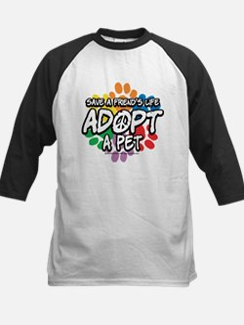 Paws-Adopt-2009 Kids Baseball Jersey