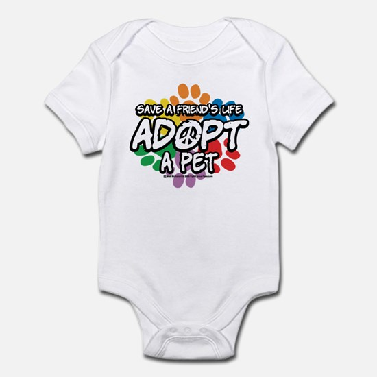 Paws-Adopt-2009 Infant Bodysuit