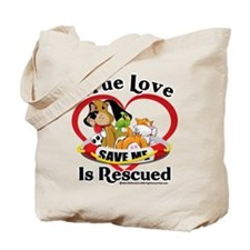 Rescued-Love Tote Bag