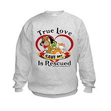 Rescued-Love Sweatshirt
