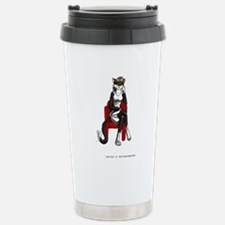 Lucy Black Stainless Steel Travel Mug