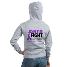 JoinTheFight-Cancer Zip Hoodie