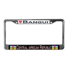 Bangui, CENTRAL AFRIC. REP. - License Plate Frame
