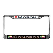 Moroni, COMOROS - License Plate Frame