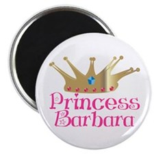 Princess Barbara Magnet