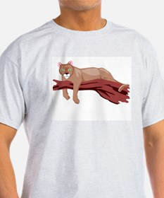 cougar Ash Grey T-Shirt