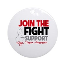 JoinTheFight-Cancer Ornament (Round)