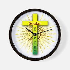 Souler Energy 2 Wall Clock