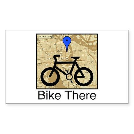 Bike There Final w:o backgound Sticker
