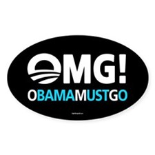 OMG! obamamustgo Decal