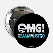 "OMG! obamamustgo 2.25"" Button (10 pack)"