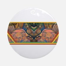 African Culture Ornament (Round)