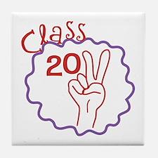 Class 2011 Peace Tile Coaster