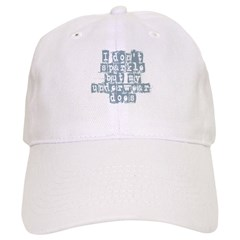 I Don't Sparkle Baseball Cap