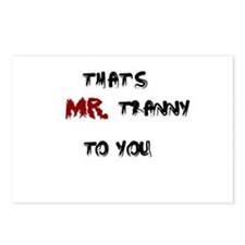 Mr. Tranny Postcards (Package of 8)