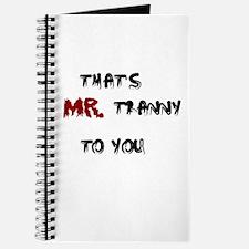 Mr. Tranny Journal