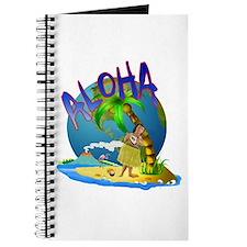 Hawaiian greeting Journal