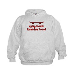Big Brother Knows How To Roll Hoodie